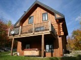 Mont Tremblant ski vacation chalet rental - golf or skiing vacation chalet