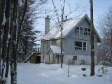 Canada vacation ski chalet rental - Quebec ski home near Pinacle mountain