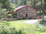 Ohio log cabin vacation rental home - Marietta holiday home rental