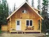 Fairbanks vacation log cabin rental - Alaska holiday cabin USA