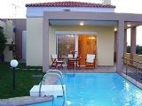 Rethymno holiday rental villa with pool - luxury home in Crete, Greek Islands