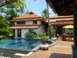 Thai style beachfront villa in Koh Samui - luxury Samui beach village rental