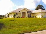 Rotonda West family villa - Florida Gulf Coast golf villa with river views