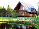 Quebec vacation waterfront log cabin - Vacation rental luxury home in Canada