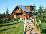 USA adventure log cabin rental homes - Alaskan vacation cabins