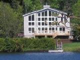Mont Tremblant lake front vacation rental - Quebec ski holiday home rental
