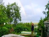 Alaska bed and breakfast vacation cottage - Homer B & B near Kachemak Bay USA