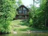 Quebec self catering vacation cottages - Lake Mauricie holiday cottage rentals