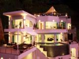 Phuket luxury holiday villa in Thailand - Bangtao Beach villa views to Andam